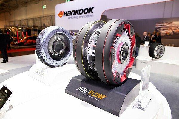 Hankook präsentiert Reifen der Zukunft auf Essen Motor Show