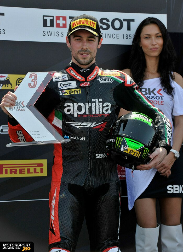 Superbike 2012, Verschiedenes, Eugene Laverty, Aprilia Racing Team, Bild: Aprilia Racing