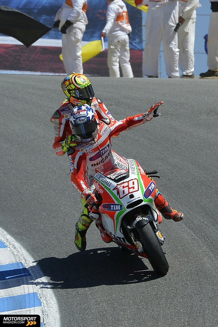 MotoGP 2012, USA GP, Monterey, Nicky Hayden, Ducati Team, Bild: Milagro