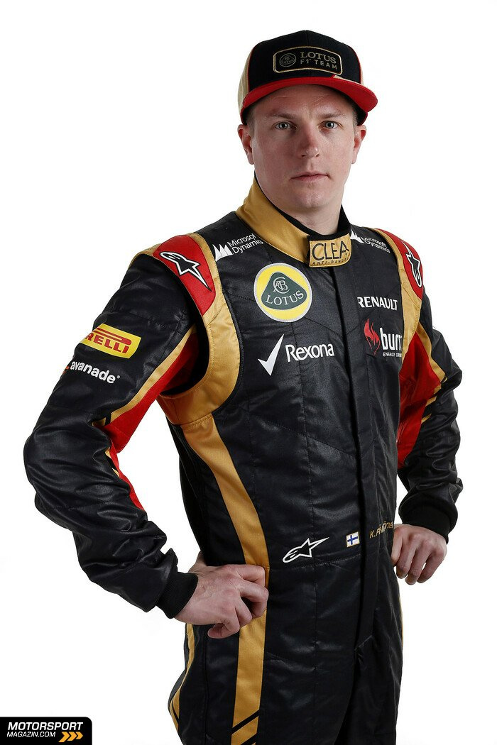 Formel 1 2013, Pr�sentationen, Kimi R�ikk�nen, Lotus F1 Team, Bild: Lotus F1 Team