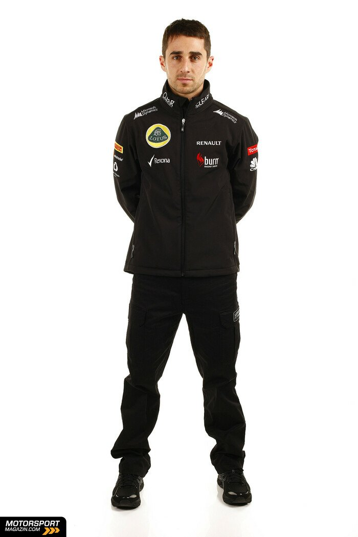 Formel 1 2013, Pr�sentationen, Nicolas Prost, Lotus F1 Team, Bild: Lotus F1 Team