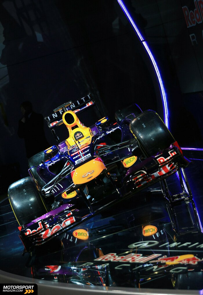Formel 1 2013, Pr�sentationen, Bild: Red Bull