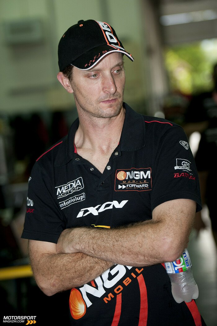 MotoGP 2013, Testfahrten, Colin Edwards, Forward Racing, Bild: Milagro