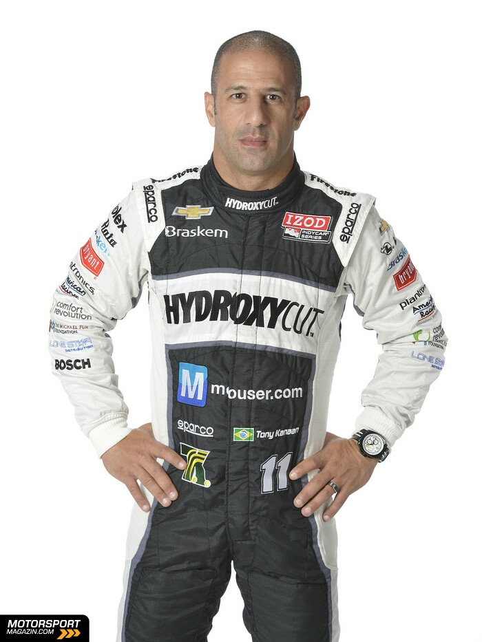 IndyCar 2013, Pr�sentationen, Tony Kanaan, KV Racing Technology, Bild: IndyCar