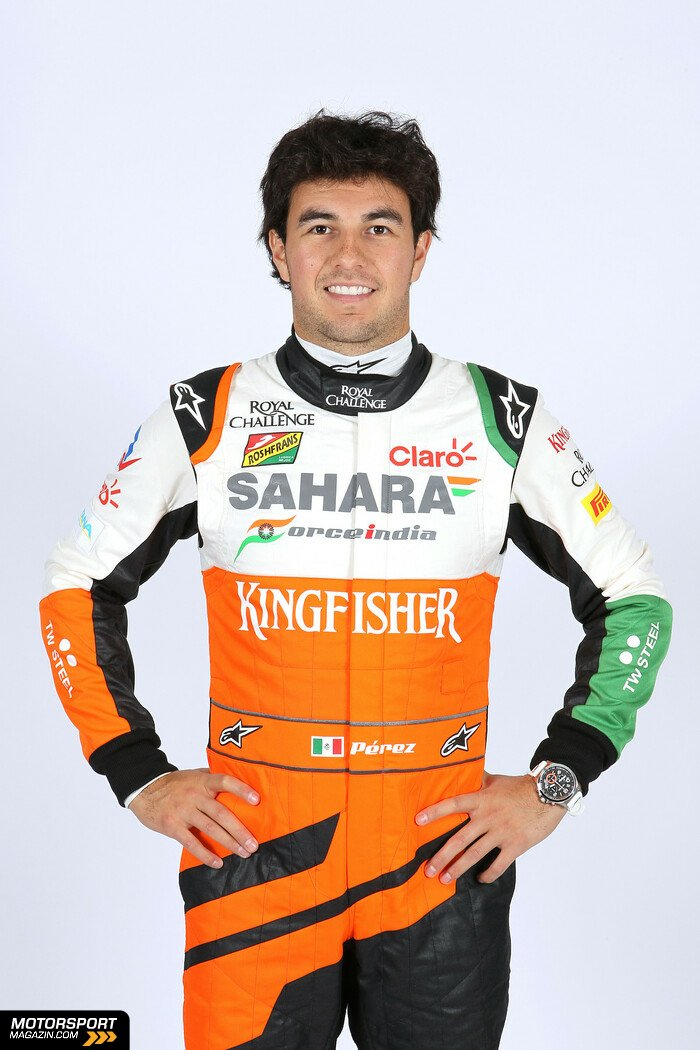 Formel 1 2014, Pr�sentationen, Bild: Force India