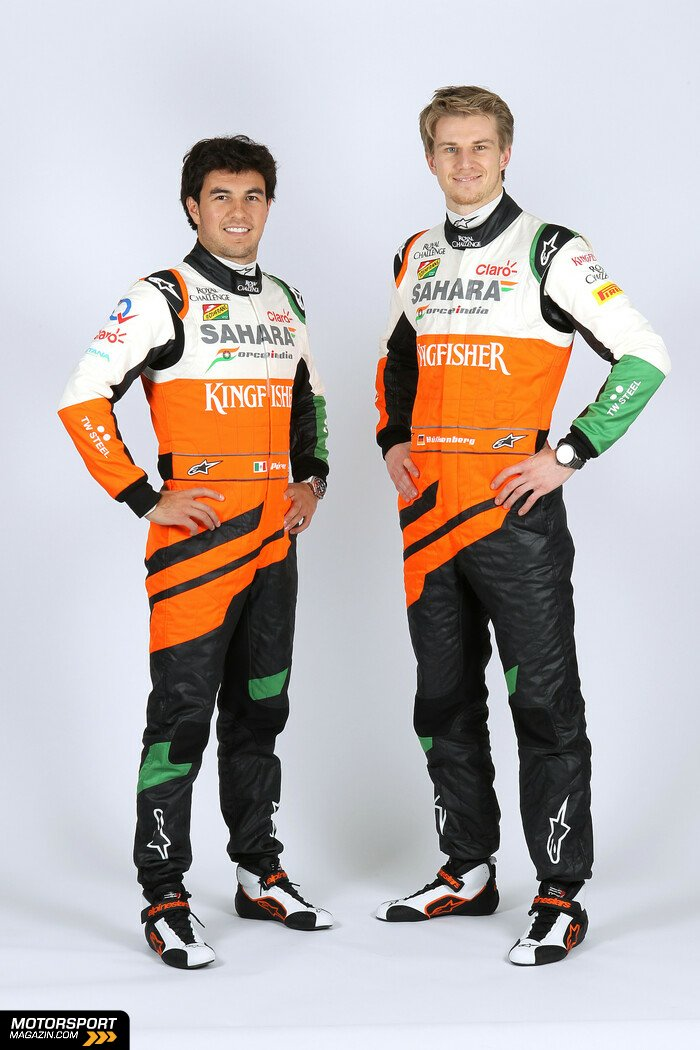 Formel 1 2014, Pr�sentationen, Nico H�lkenberg, Force India, Bild: Force India
