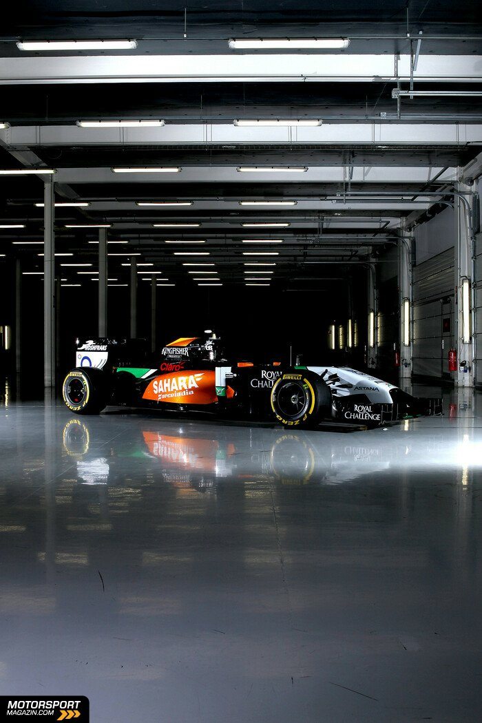 Formel 1 2014, Pr�sentationen, Force India, Bild: Force India