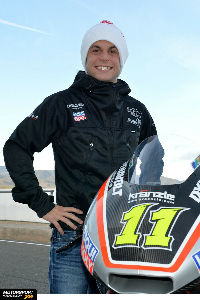 Moto2 2014, Testfahrten, Sandro Cortese, Intact-Racing Team Germany, Bild: IntactGP