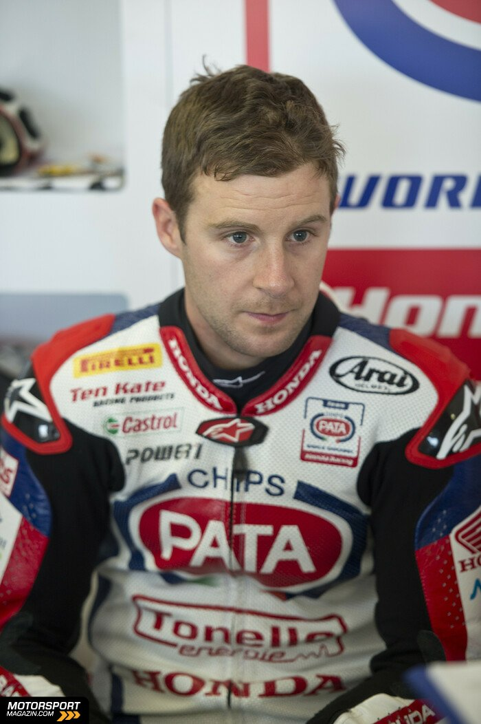 Superbike 2014, Testfahrten, Jonathan Rea, Pata Honda World Superbike Team, Bild: Honda