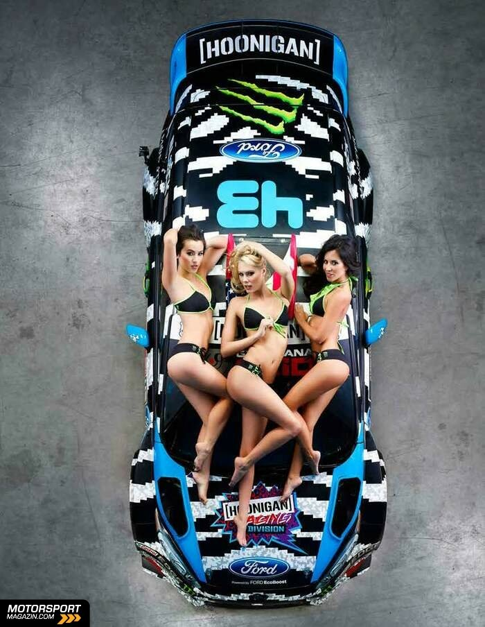 WRC 2014, Pr�sentationen, Ken Block, , Bild: Hoonigan Racing