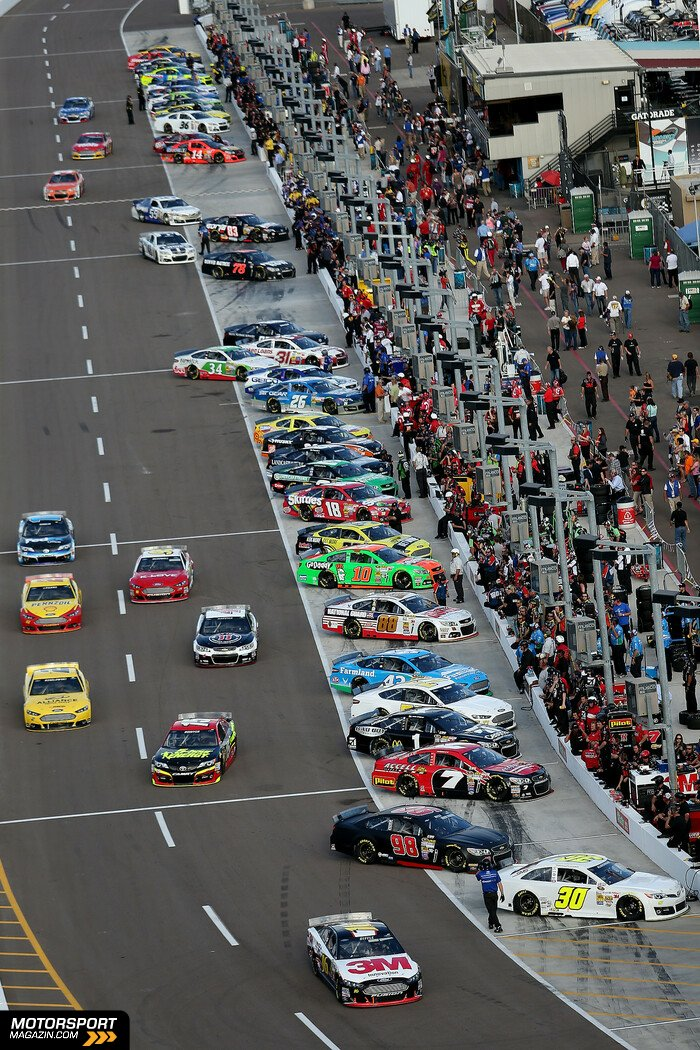 NASCAR 2014, The Profit on CNBC 500(k), Phoenix, Arizona, Bild: NASCAR