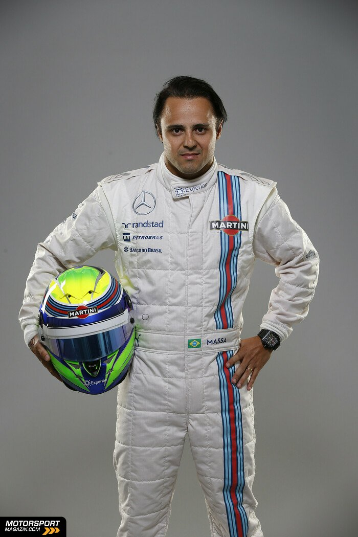 Formel 1 2014, Präsentationen, Felipe Massa, Williams, Bild: Williams
