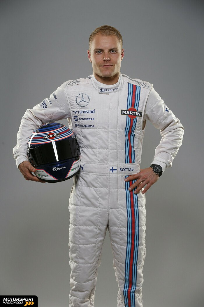 Formel 1 2014, Pr�sentationen, Valtteri Bottas, Williams, Bild: Williams