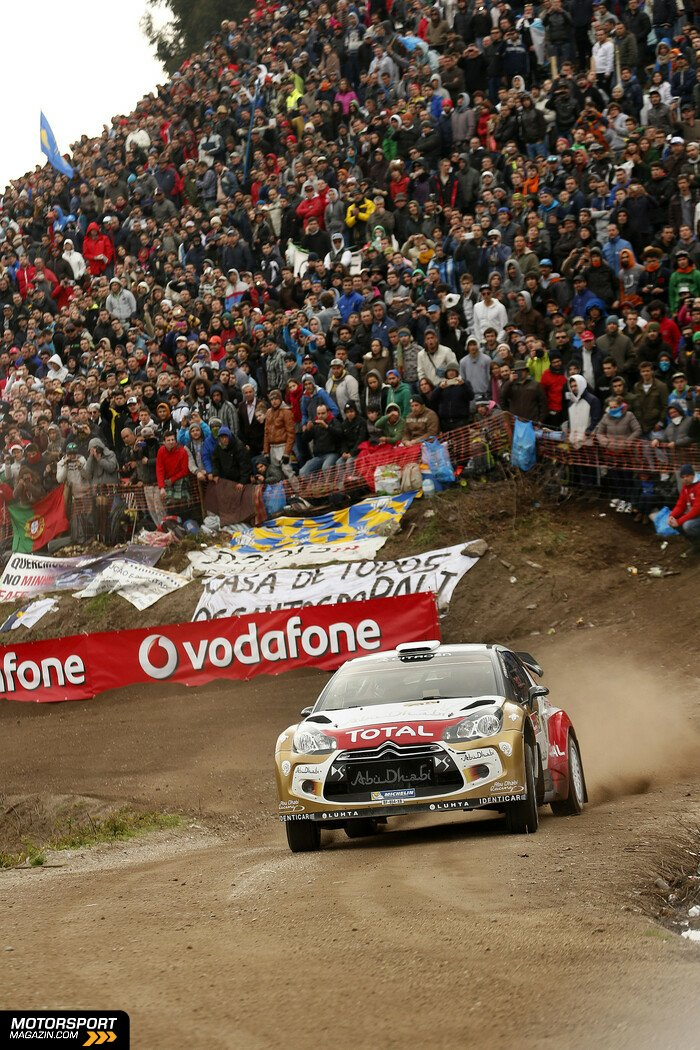 WRC 2014, Rallye Portugal, Matosinhos, Kris Meeke, Citroen World Rally Team, Bild: Citroen
