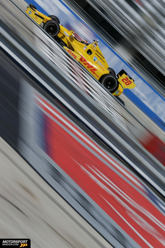 IndyCar 2014, Milwaukee, West Allis, Ryan Hunter-Reay, Andretti Autosport, Bild: IndyCar