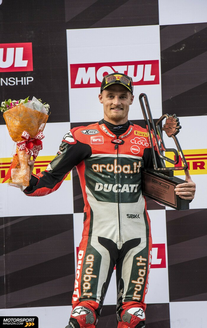 Superbike WSBK 2016, Thailand, Buriram, Chaz Davies, Aruba.it Racing-Ducati Superbike Team, Bild: Ducati