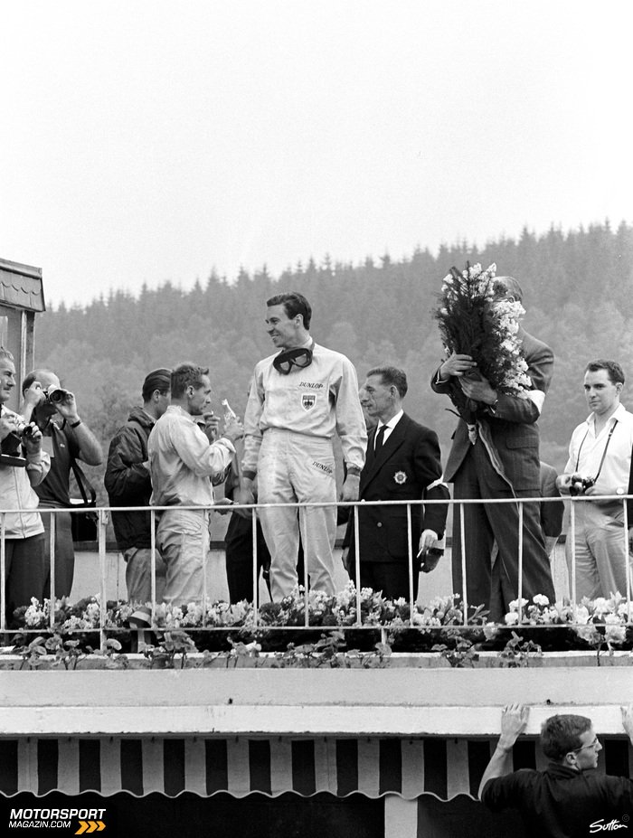 Formel 1 1962, Belgien GP, Spa-Francorchamps, Jim Clark, Lotus, Bild: Sutton