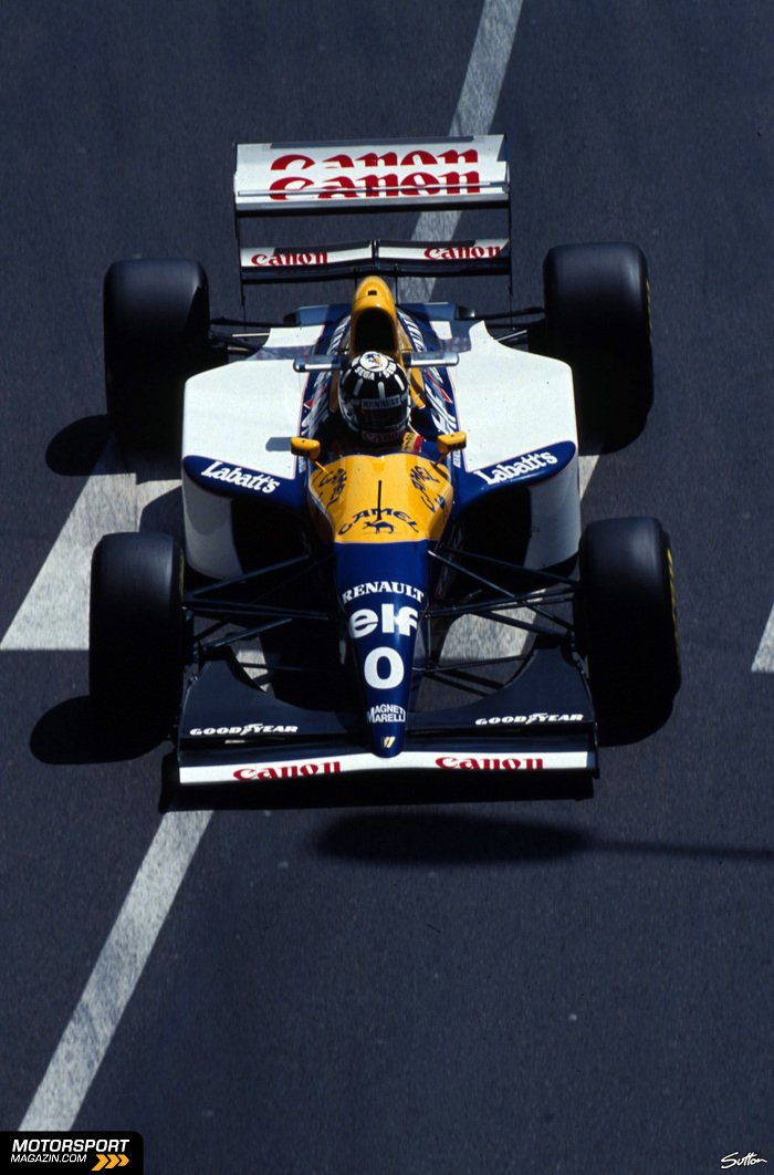 Formel 1 1993, Verschiedenes, Damon Hill, Williams, Bild: Sutton