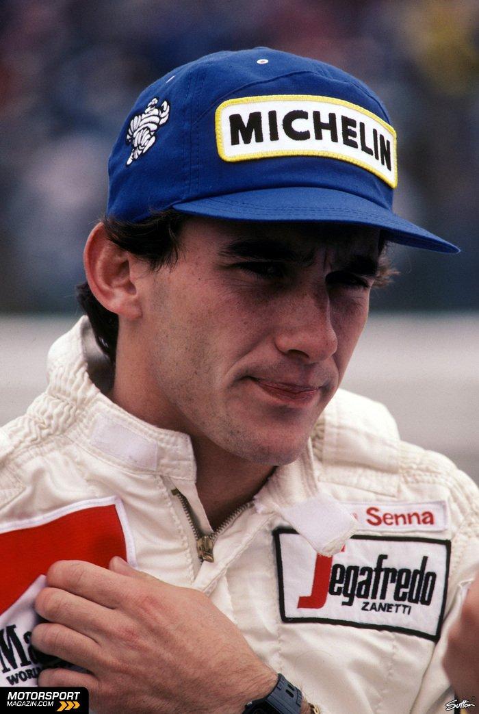 Formel 1 1984, Deutschland GP, Hockenheim, Ayrton Senna, Toleman, Bild: Sutton