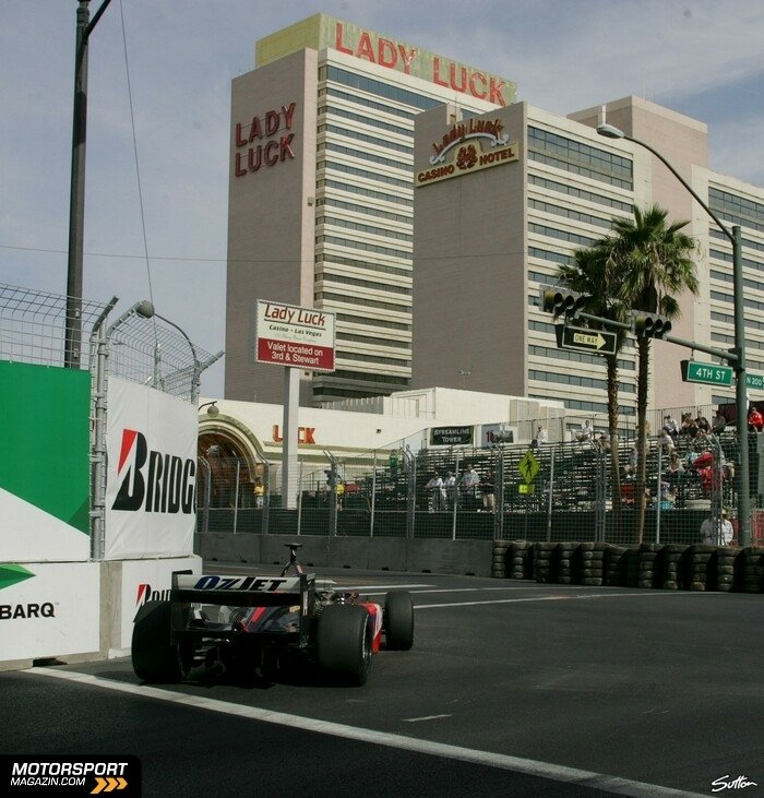 Champ Cars 2007, Vegas GP, Las Vegas, Dan Clarke, Minardi Team USA, Bild: Sutton