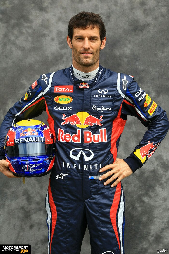 Formel 1 2012, Australien GP, Melbourne, Mark Webber, Red Bull Racing, Bild: Sutton