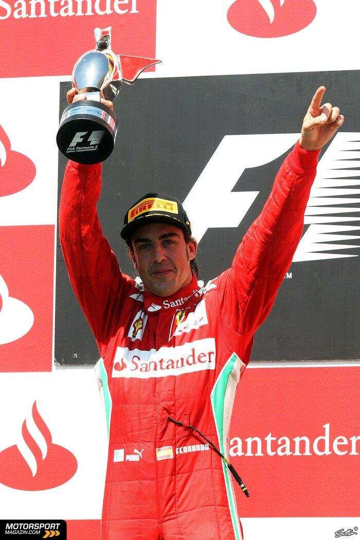 Formel 1 2012, Europa GP, Valencia, Fernando Alonso, Ferrari, Foto: Sutton