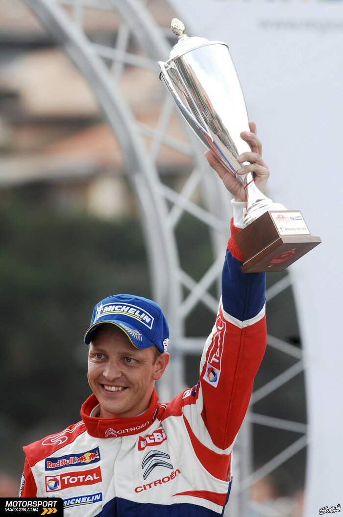 WRC 2012, Rallye Italien, Alghero, Mikko Hirvonen, Citroen World Rally Team, Bild: Sutton