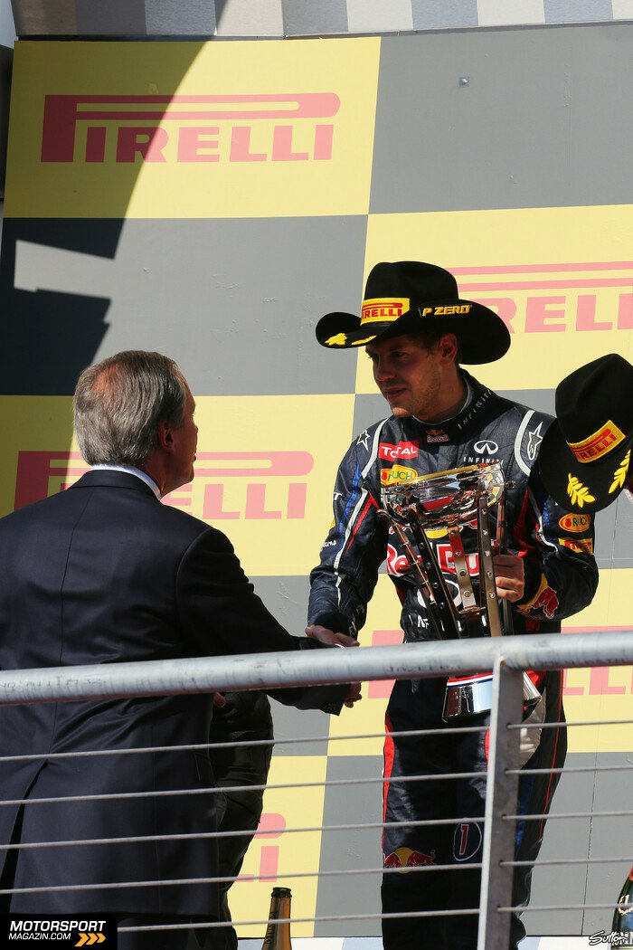 Formel 1 2012, US GP, Austin, Texas, Sebastian Vettel, Red Bull Racing, Bild: Sutton