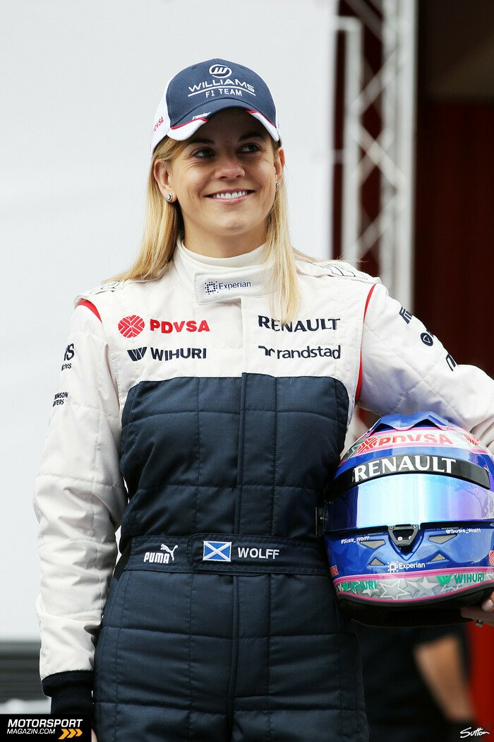 Formel 1 2013, Pr�sentationen, Susie Wolff, Williams, Bild: Sutton