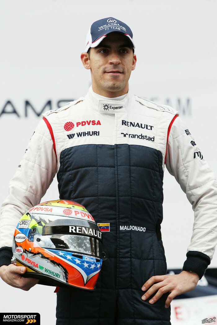 Formel 1 2013, Testfahrten, Barcelona I, Barcelona, Pastor Maldonado, Williams, Bild: Sutton