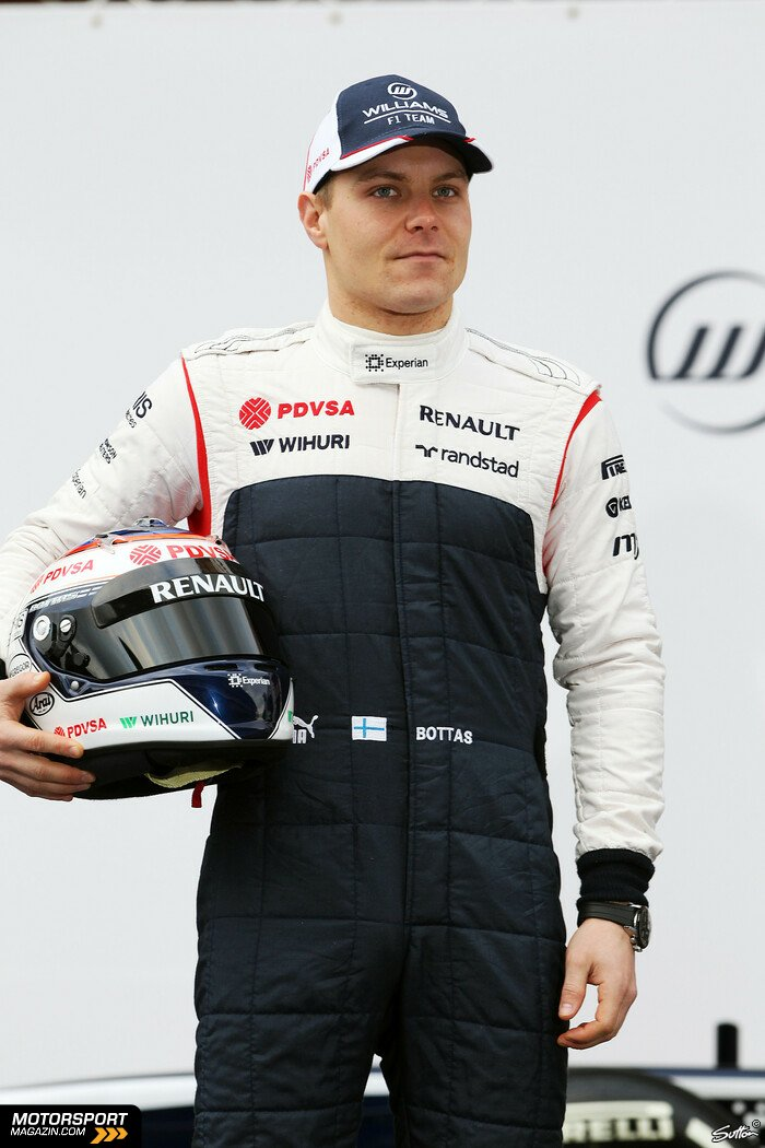 Formel 1 2013, Präsentationen, Valtteri Bottas, Williams, Bild: Sutton
