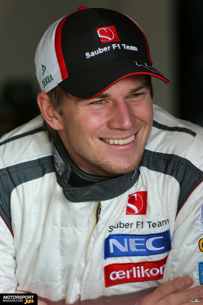 Formel 1 2013, Barcelona I, Barcelona, Nico Hülkenberg, Sauber, Bild: Sutton