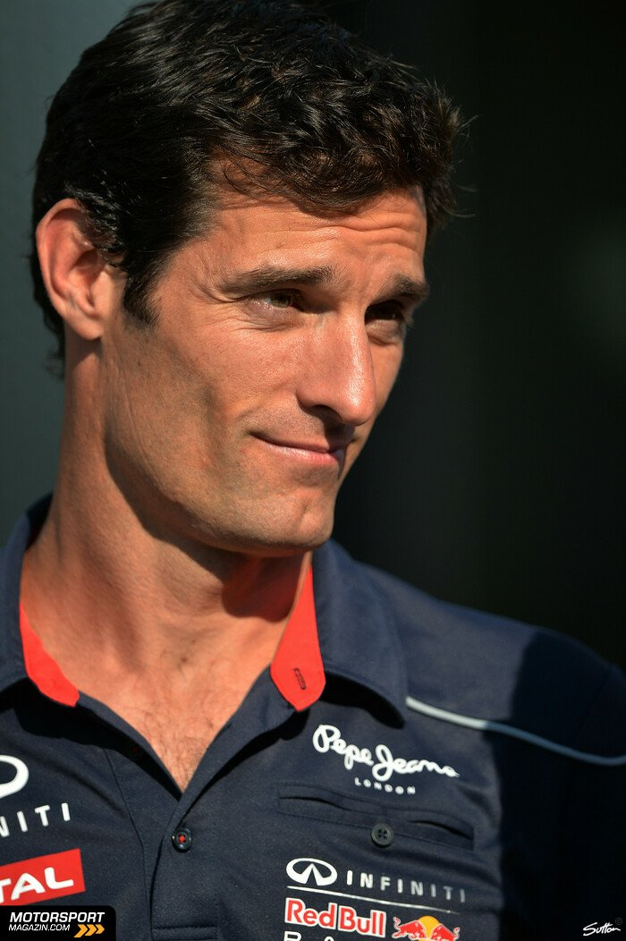 Formel 1 2013, Ungarn GP, Budapest, Mark Webber, Red Bull Racing, Bild: Sutton