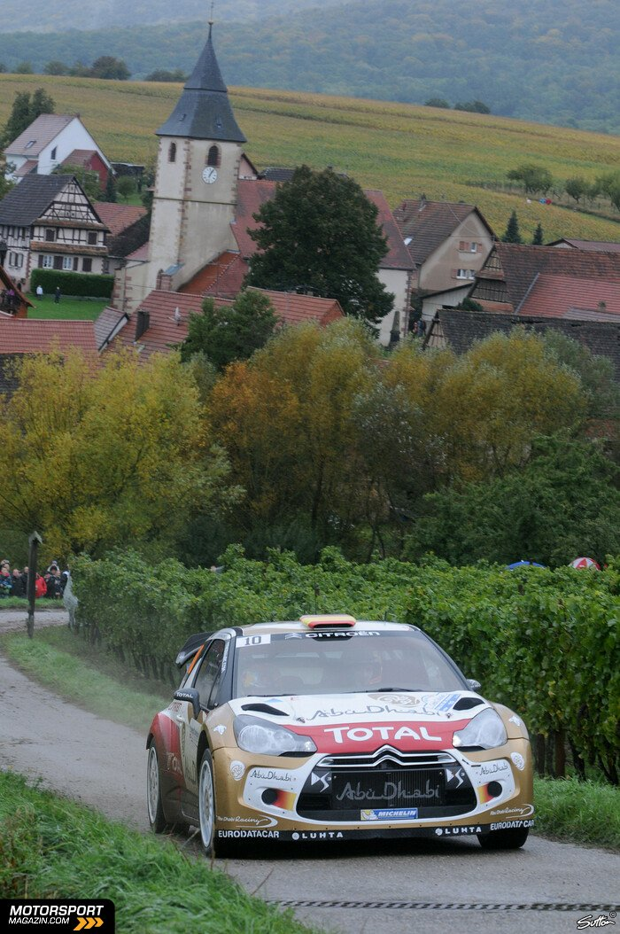 WRC 2013, Verschiedenes, Daniel Sordo, Citroen World Rally Team, Bild: Sutton