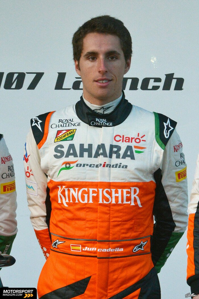 Formel 1 2014, Präsentationen, Daniel Juncadella, Force India, Bild: Sutton