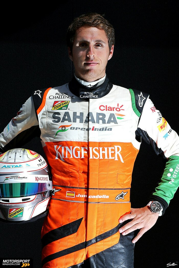 Formel 1 2014, Australien GP, Melbourne, Daniel Juncadella, Force India, Bild: Sutton