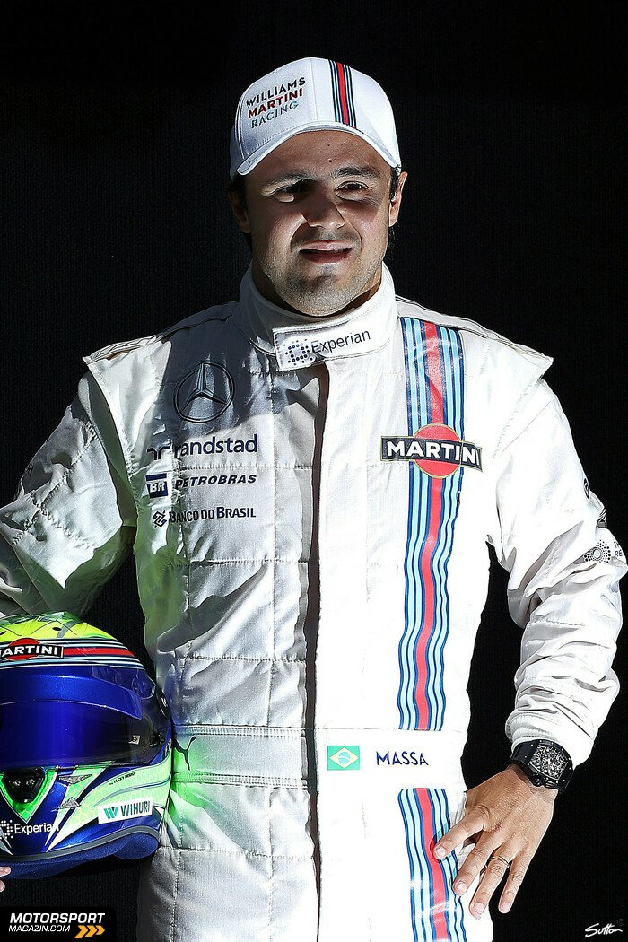 Formel 1 2014, Australien GP, Melbourne, Felipe Massa, Williams, Bild: Sutton