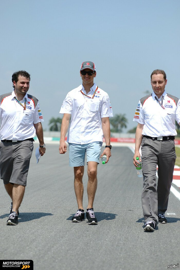 Formel 1 2014, Malaysia GP, Sepang, Adrian Sutil, Sauber, Bild: Sutton