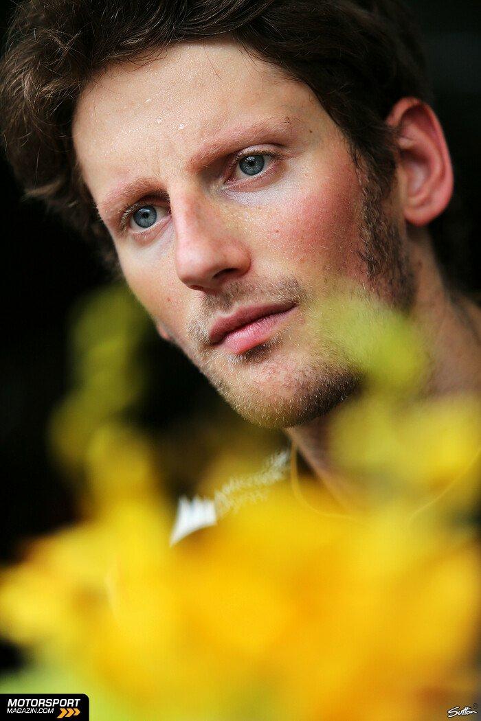 Formel 1 2014, Malaysia GP, Sepang, Romain Grosjean, Lotus, Bild: Sutton