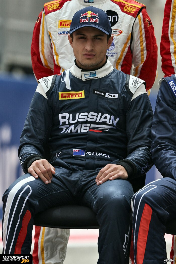 GP2 2014, Pr�sentationen, Mitchell Evans, RUSSIAN TIME, Bild: Sutton