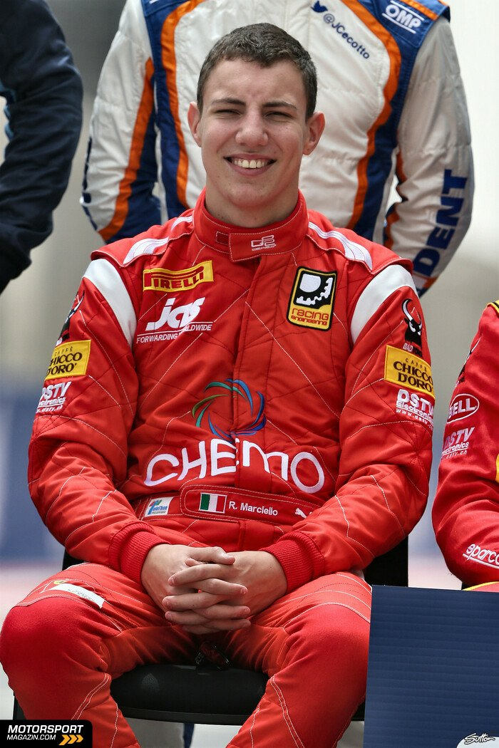 GP2 2014, Pr�sentationen, Raffaele Marciello, Racing Engineering, Bild: Sutton