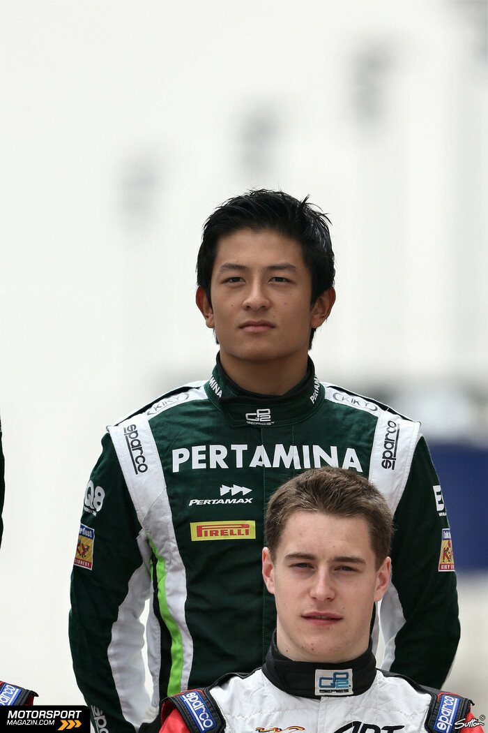 GP2 2014, Pr�sentationen, Rio Haryanto, EQ8 Caterham Racing, Bild: Sutton