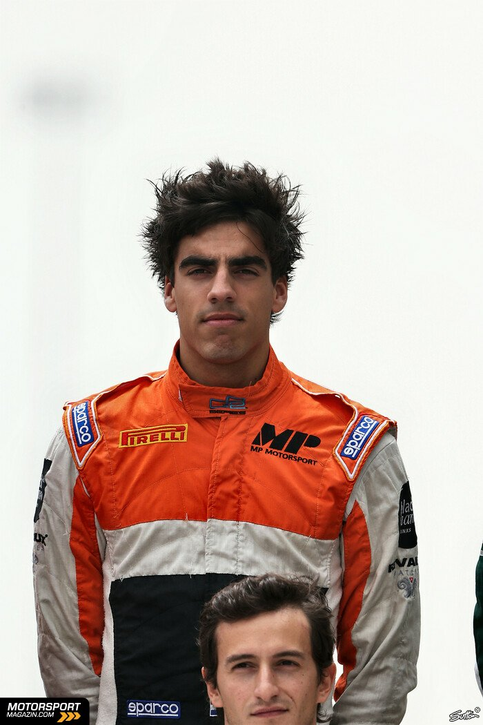 GP2 2014, Pr�sentationen, Daniel de Jong, MP Motorsport, Bild: Sutton