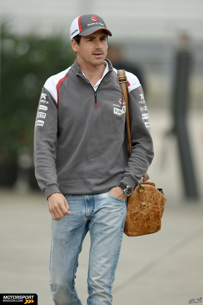 Formel 1 2014, China GP, Shanghai, Adrian Sutil, Sauber, Bild: Sutton