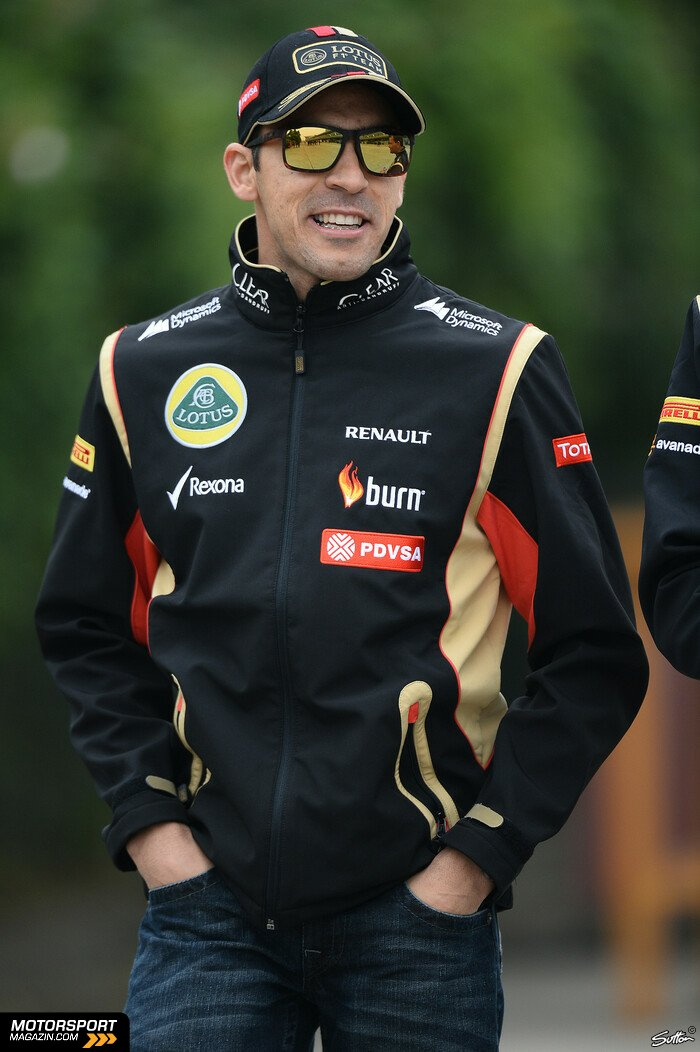 Formel 1 2014, China GP, Shanghai, Pastor Maldonado, Lotus, Bild: Sutton