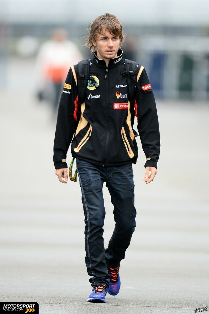Formel 1 2014, China GP, Shanghai, Charles Pic, Lotus, Bild: Sutton