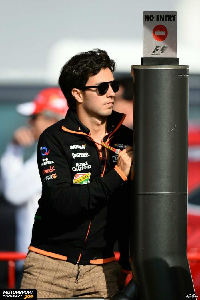 Formel 1 2014, Spanien GP, Barcelona, Sergio P�rez, Force India, Bild: Sutton