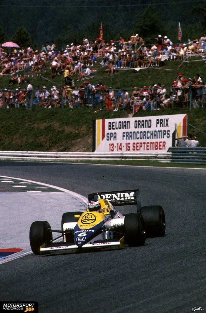 Formel 1 1985, Williams, Bild: Sutton