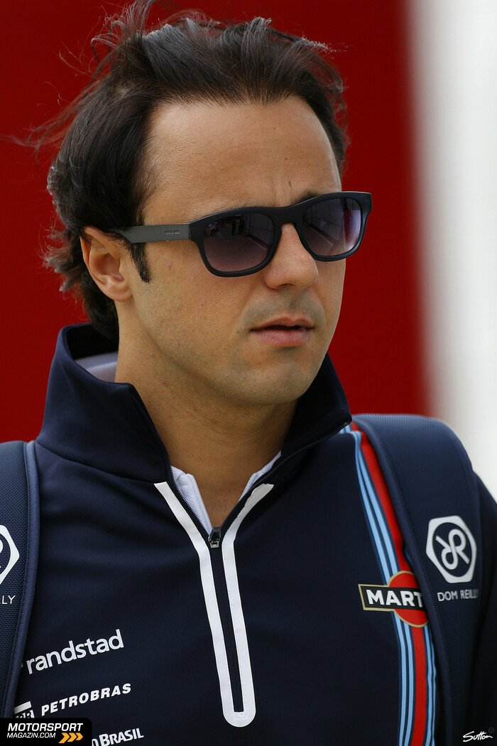 Formel 1 2014, Gro�britannien GP, Silverstone, Felipe Massa, Williams, Bild: Sutton