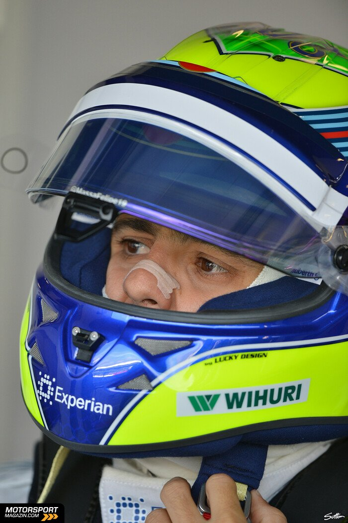Formel 1 2014, Großbritannien GP, Silverstone, Felipe Massa, Williams, Bild: Sutton
